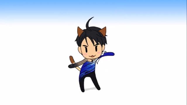 【羽生結弦】きゅっきゅっきゅっニャーするだけ Yuzuru Hanyu その1