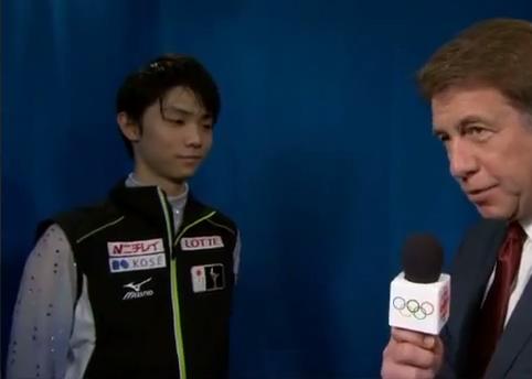 【羽生結弦】Yuzuru Hanyu CBCカートブラウニング解説動画(インタビューもあるよ)2015 SP World Figure Skating Championships video