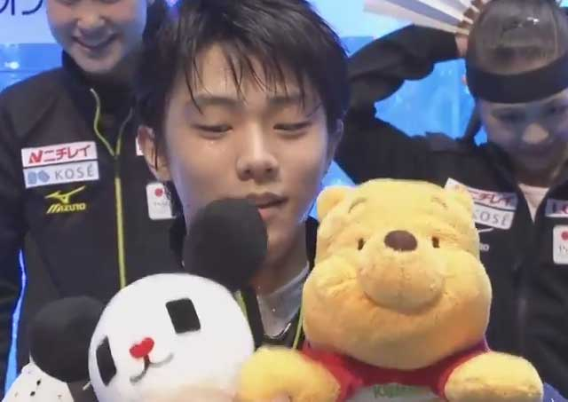 【羽生結弦】国別対抗戦2015 SP  Yuzuru Hanyu World team trophy competition