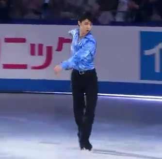 【羽生結弦】やっちゃったよ、何やってんの~っ!Yuzuru Hanyu 4Lo 3A WTT2015