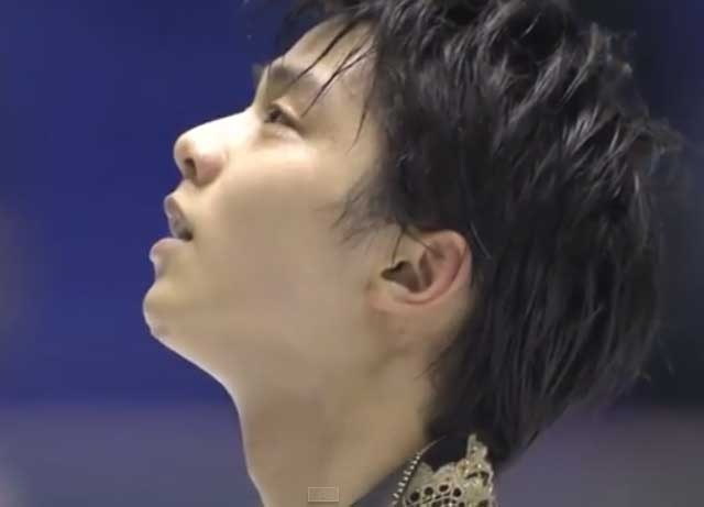 【羽生結弦】国別対抗戦2015 FP  Yuzuru Hanyu World team trophy competition