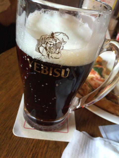 エビス黒ビール銀座ライオン