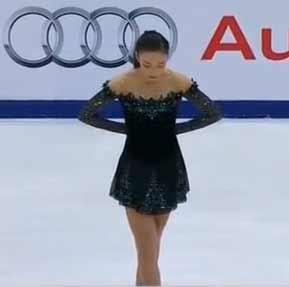 【本郷理華】翻訳神降臨 彼女はいつも期待以上の演技をするのよ! NBC解説 スケートカナダ2015 FP