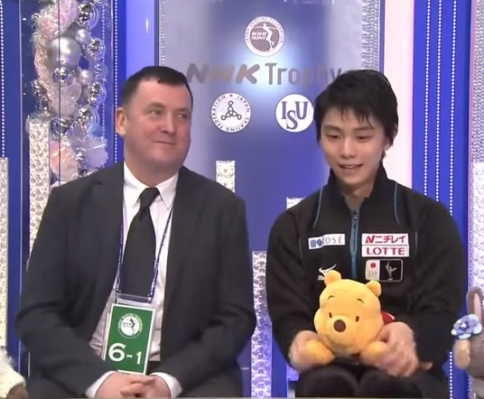 【羽生結弦】翻訳神降臨 まさに超新星 カートブラウニング・CBC実況解説 NHK杯2015 FP