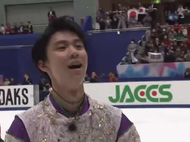 【羽生結弦】翻訳神降臨 この世界の誰よりも君はすごい ジョニーウィアーNBC解説 NHK杯2015 FP