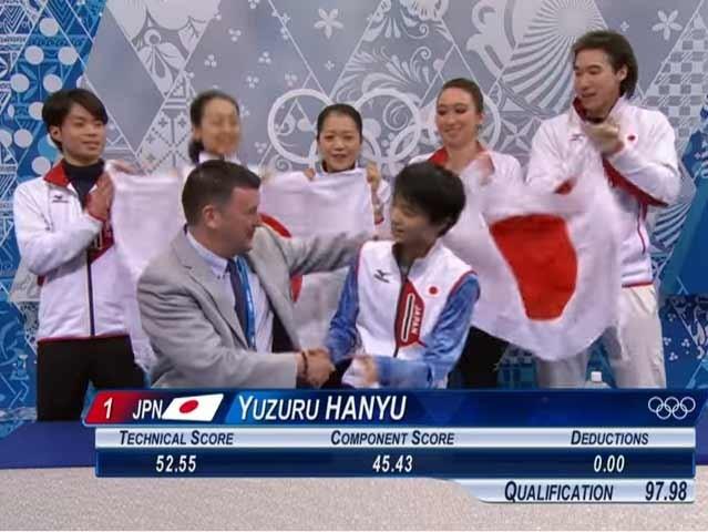ソチオリンピック2014男子シングル団体SP