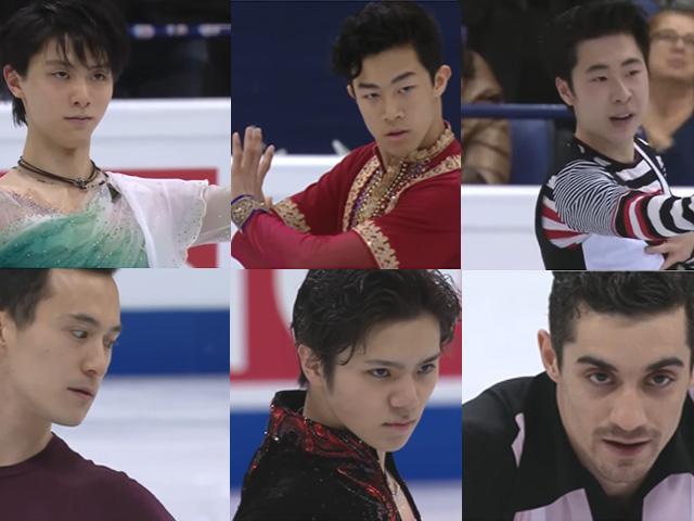 世界選手権大会2017 男子シングル FS  第4グループ NBCジョニーウィアー解説